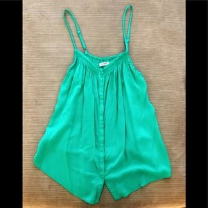GREAT CONDITION Old Navy Green Button Down Tank